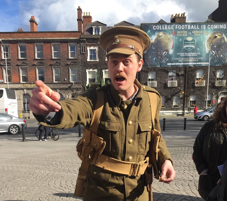 1916 Behind the Barricades Bus Tour