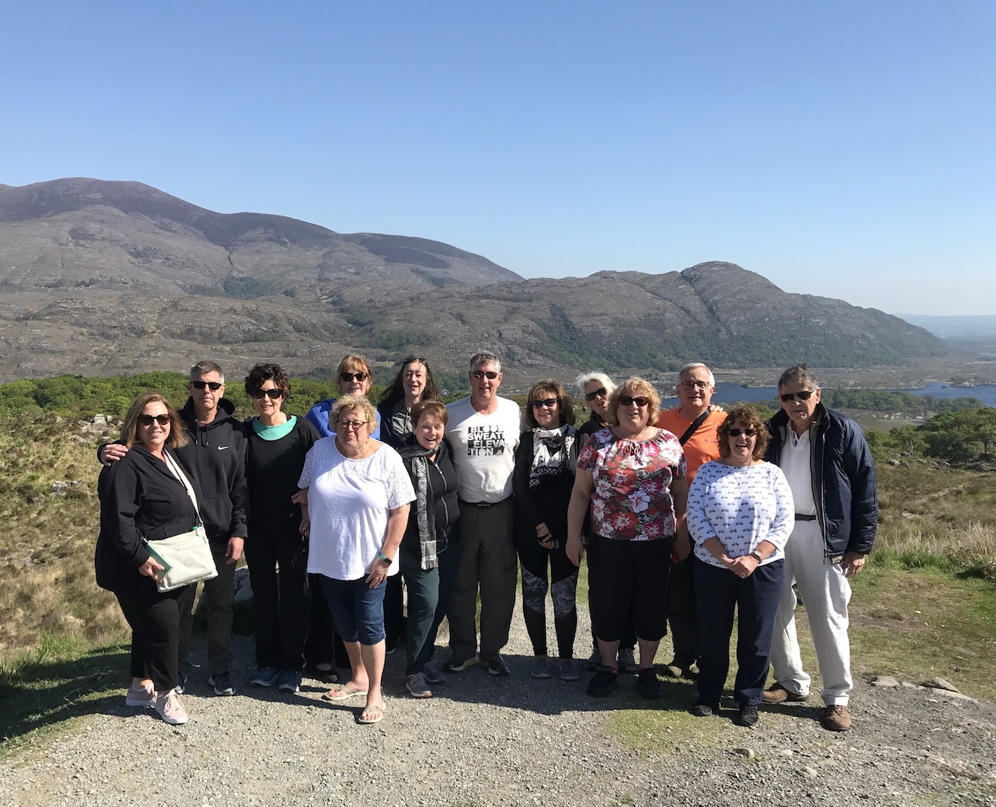 2018 May Tour Group - Ladies View, Killarney, County Kerry