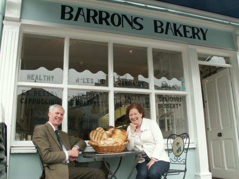 Joe & Esther, Barrons Bakery, Cappoquin, County Waterford