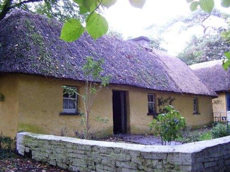 Cottage Bunratty Castle & Folk Park, County Clare