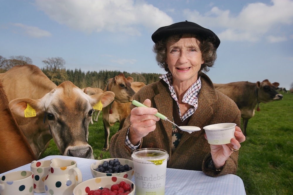 Lady Duferrin of the Clandeboye Estate, yoghurt producer and portrait painter of her beloved cows!