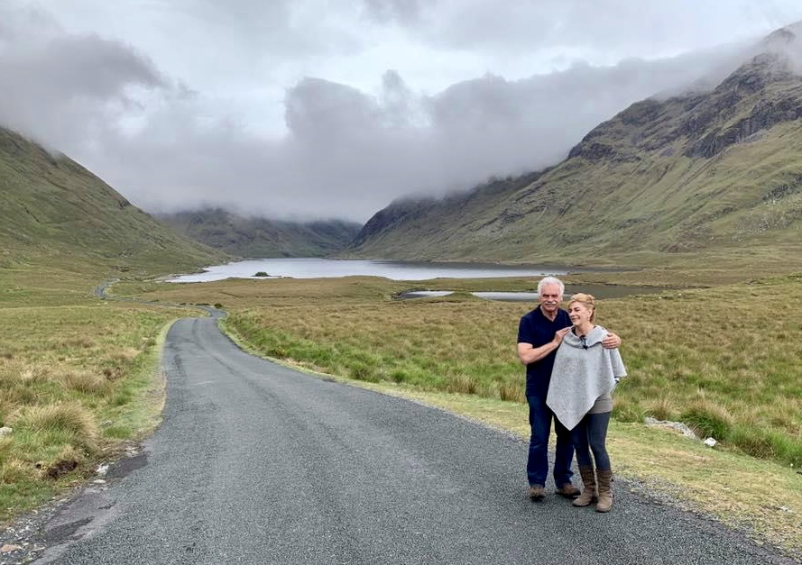 Lisa and Frank Robinson, Doolough, Connemara