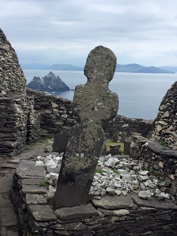 Monks graves, Skellig Michael, County Kerry
