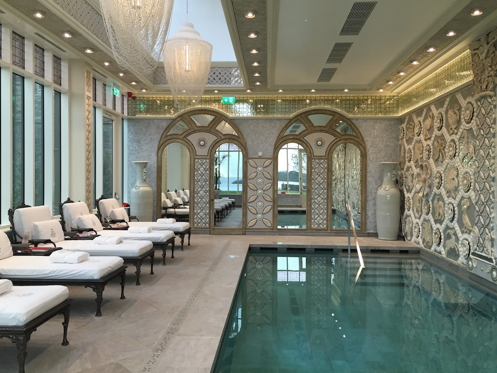 Ashford Castle Spa Interior