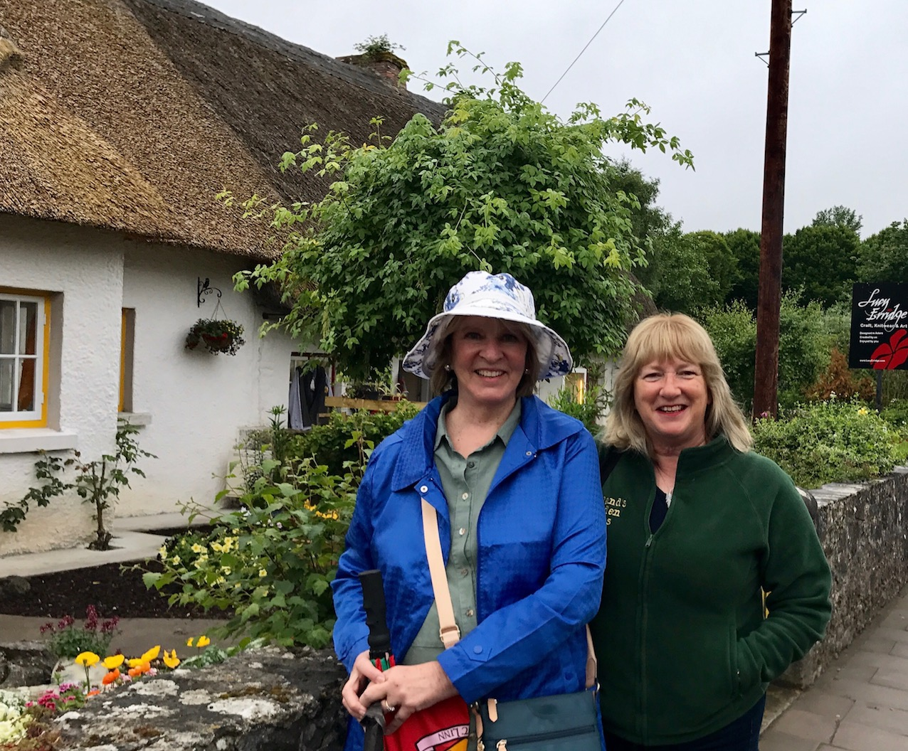 Barbara Roberts and Susan Byron Adare, County Limerick