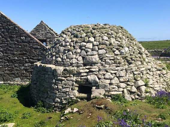 Beehive Hut, Inishmurray Island, Sligo
