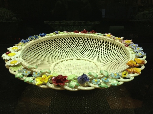Belleek Pottery Basket