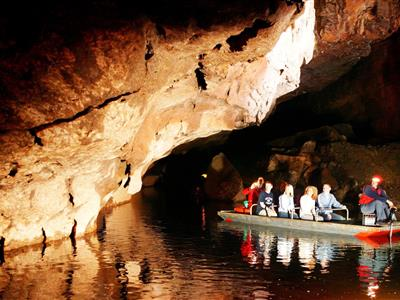 Marble Arch Caves, County Fermanagh underground boat trip