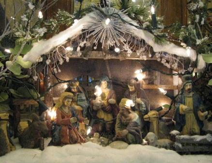 Irish Nativity or Crib scene
