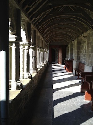 Holy Cross Abbey Cloisters