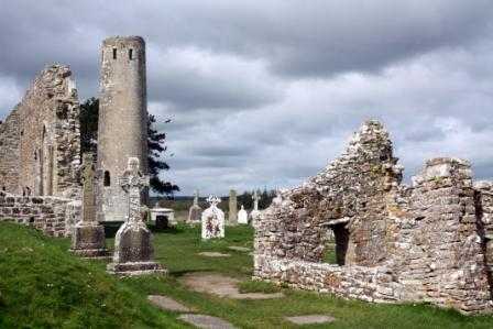 Round Tower at Clonmacnoise, Ireland