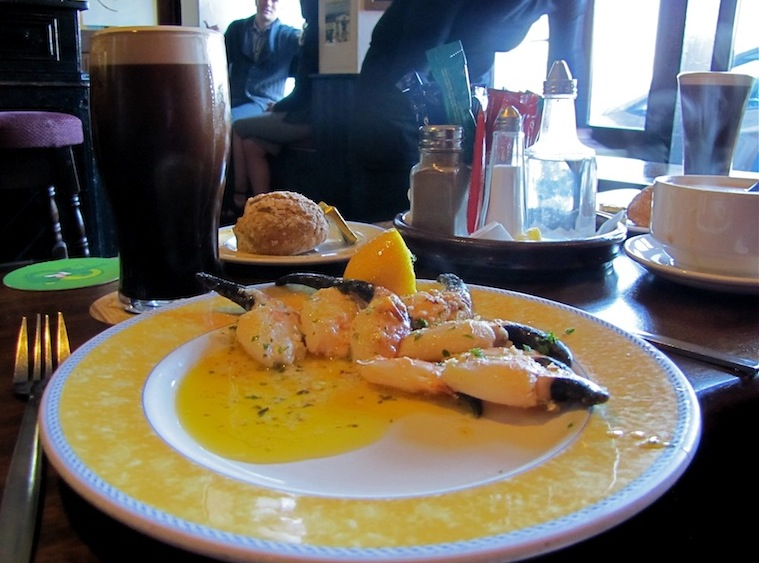 Crab Claws O'Dowds - photo credit Connemara Walking Tours