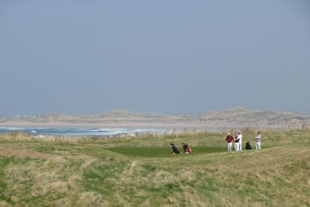 Golfing at Doonbeg