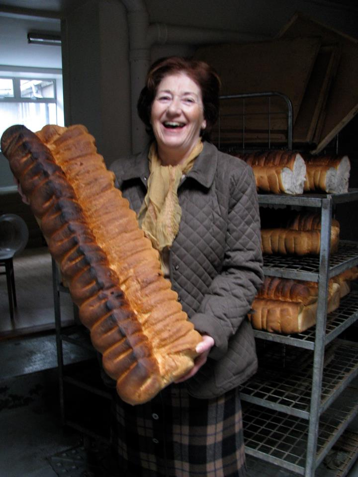 Esther Barron of Barron's Bakery, Cappoquin, County Waterford