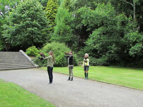 Hawk Walk, Ashford Castle, Ireland
