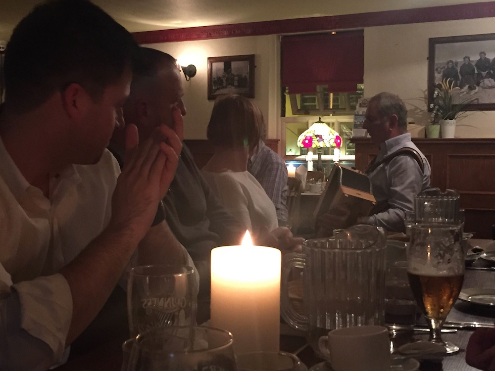 An evening of dinner, folklore and fairie tales with Irish Folk Tours.com