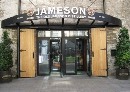 Old Jameson Irish Whiskey Distillery, Smithfield, Dublin