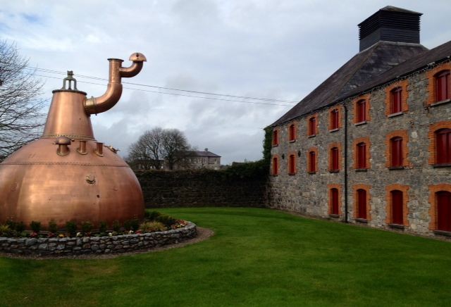The Jameson Distillery at Middleton, County Cork, Ireland.
