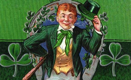 Disney styled leprechaun