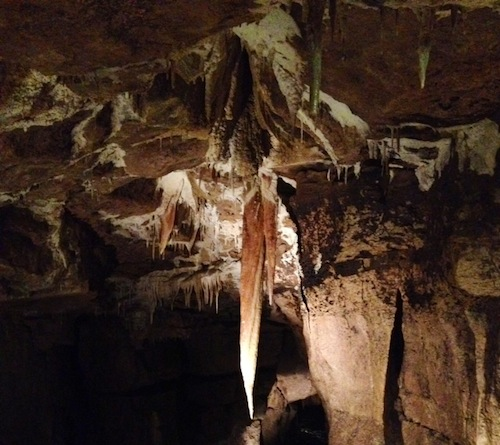 Marble Arch Caves, County Fermanagh, Stalactite