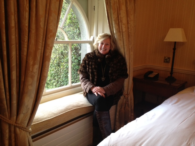 Author Susan Byron at Mount Juliet in Kilkenny