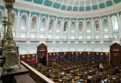 National Library Reading Room, Kildare St, Dublin 2