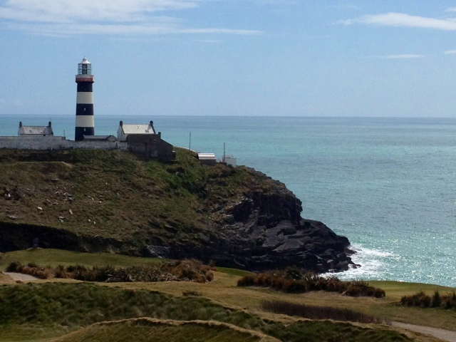 Old Head of Kinsale Golf Course and Lighthouse known as the 'Edge of the World' once upon a time....