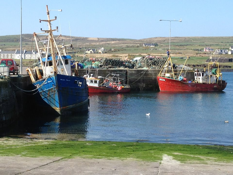 Portmagee Harbour, County Kerry