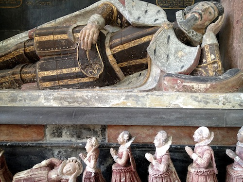 Richard Boyle, Earl of Cork monument, St Mary's Collegiate Church, Youghal, County Cork