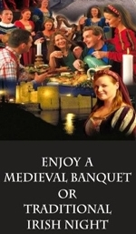 To book a medieval banquet online please click here