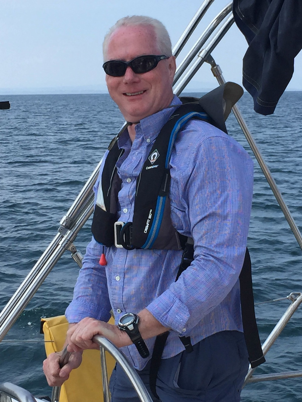 Skipper Cormac of Atlantic Way Sailing