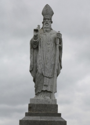 Saint Patrick, patron saint of Ireland, feast day 17th of March