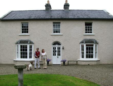Roderick & Nuala Downer, Ballylina House