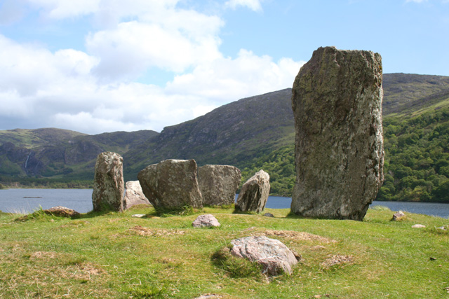 Uragh Stone Circle - photo credit Geograph.ie