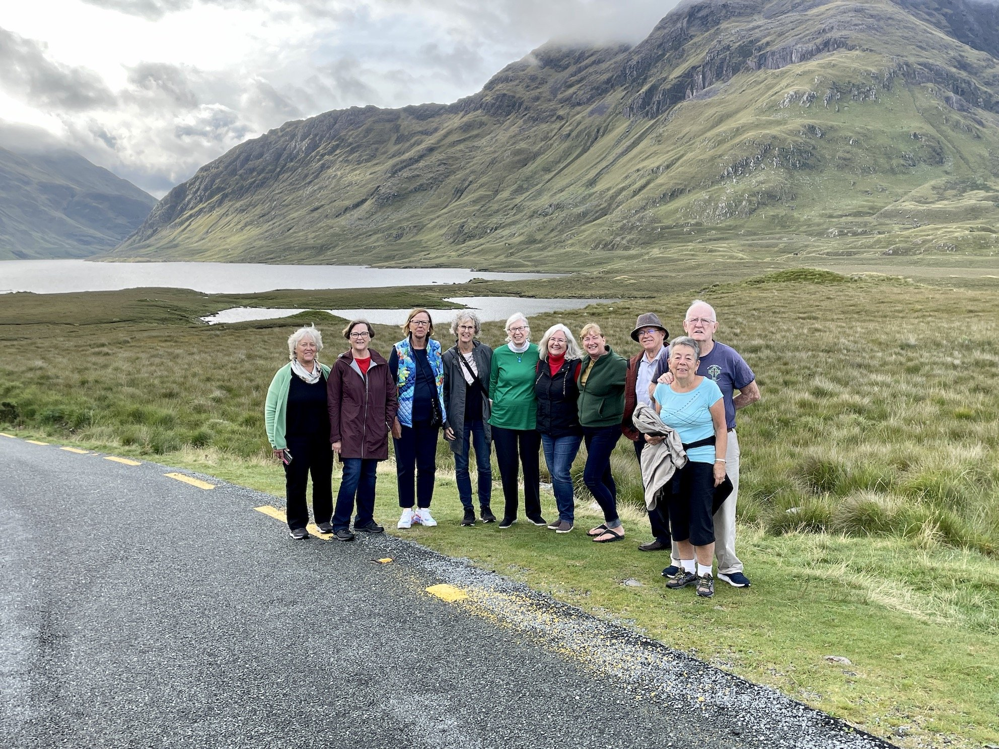September 2021 Classic Tour Group, Doolough, County Mayo