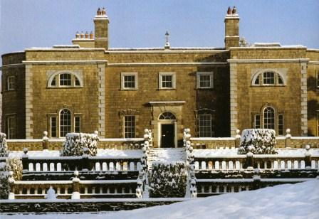 Belvedere House, Mullingar in the snow