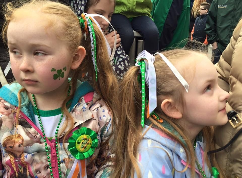 Irish twins, two sisters born a year apart!