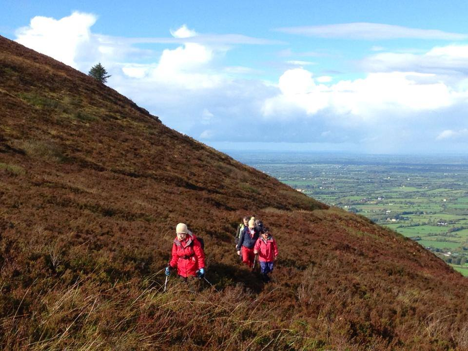 Hill walking in Ballyhoura Country