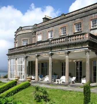 The Loggia at Bantry House, West Cork, Ireland
