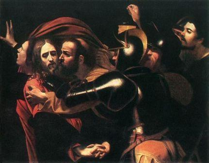 The taking of Christ Carravagio