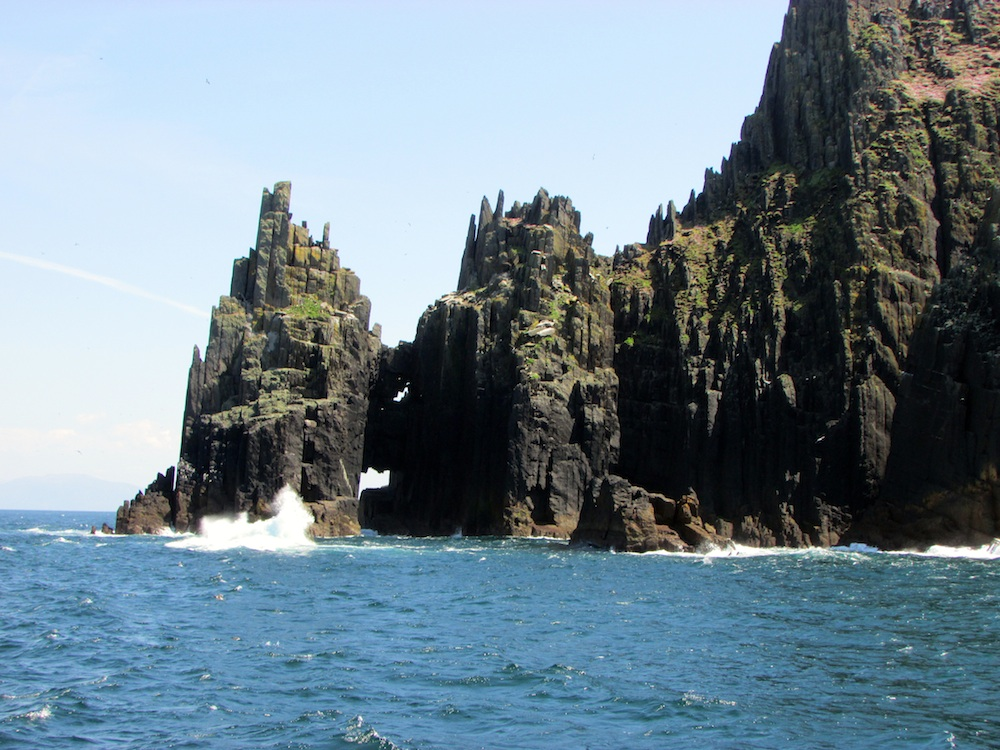 Cathedral Rocks, Inishnabró, Dingle, County Kerry