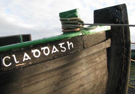 Famous Claddagh boat used in the Guinness Christmas advert