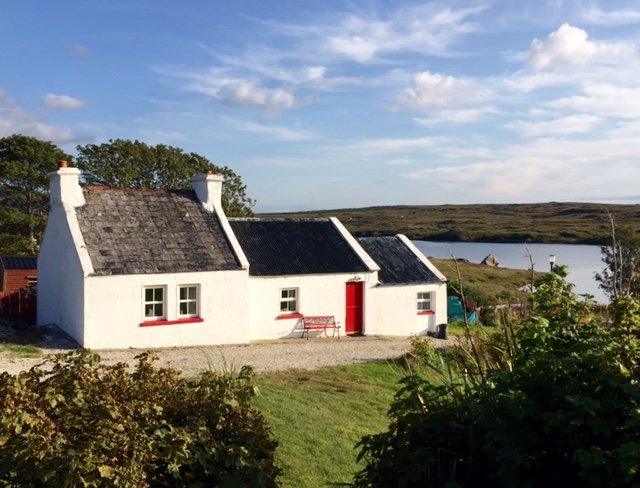 A cottage in County Donegal, Ireland