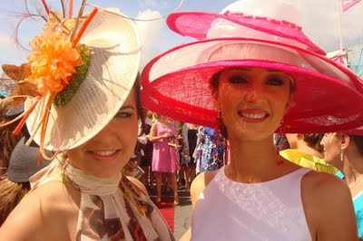 Red Lips and Hot Tips at the Galway Races!