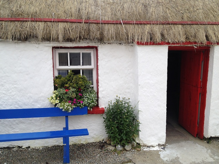 Doagh Famine Village cottage, Inishowen, County Donegal