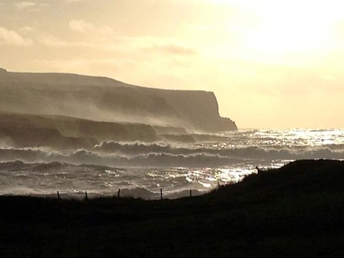 Doolin, County Clare Winter Storms