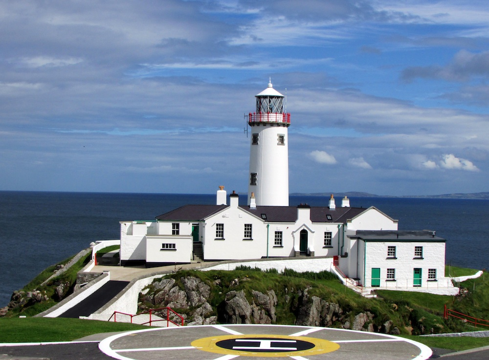 Fanad Head Lighthouse by Susan Byron of www.irelands-hidden-gems.com