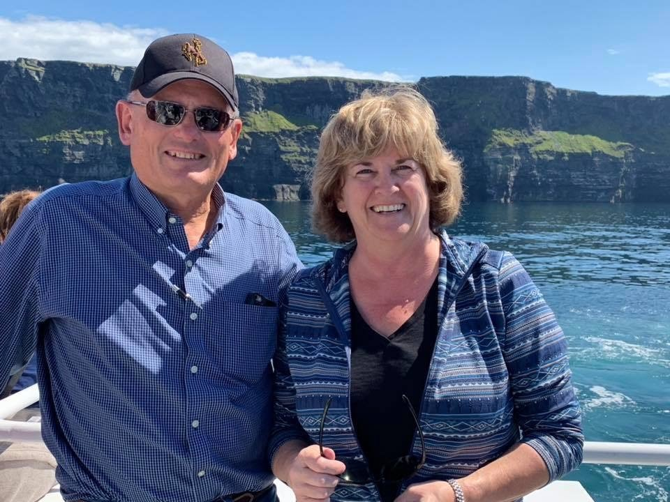 Lorene & Bob Schidmt, Cliffs of Moher Cruise, County Clare