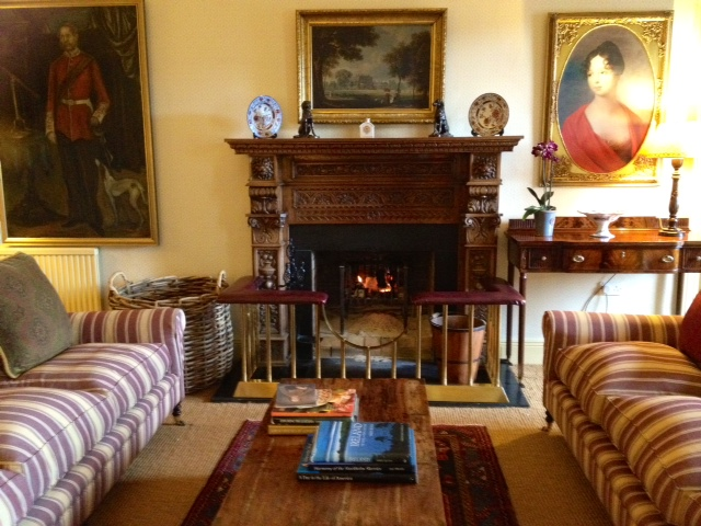 One of two drawing rooms, Perryville House, County Cork