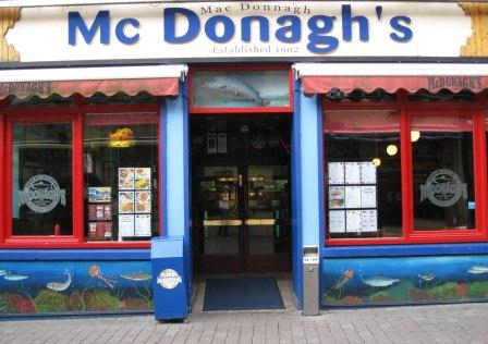 McDonaghs Fish and Chip Shop, Galway